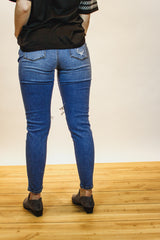 The London Distressed Jeans (Medium Wash)