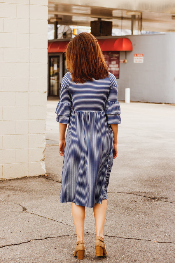 The Harbor Striped Dress