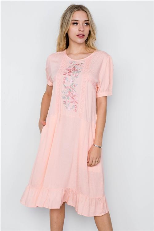 Kate Dress in Blush