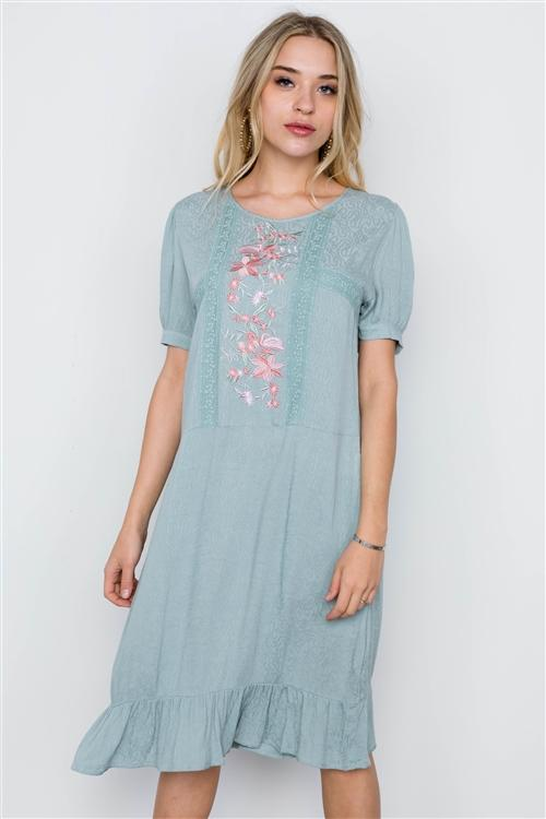 Kate Dress in Sage