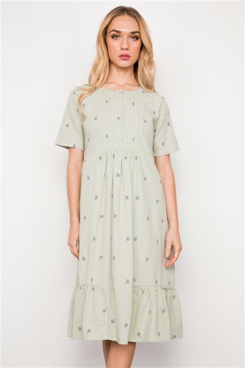 Sam Dress in Sage