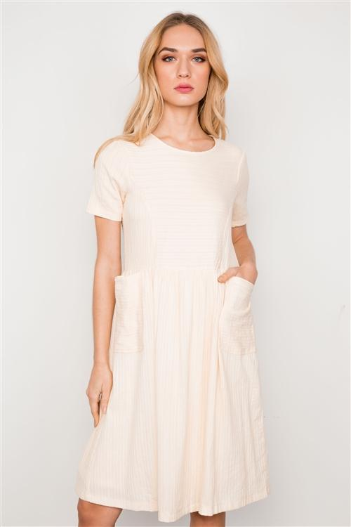 Heidi Dress in Cream
