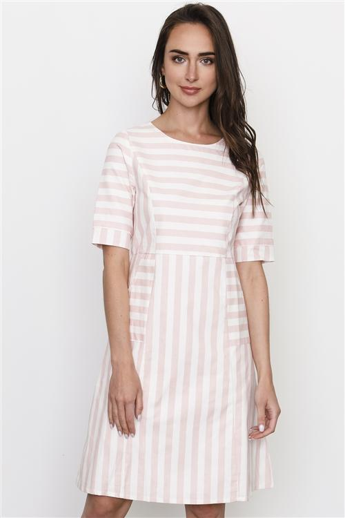 Peppermint Dress in Pink