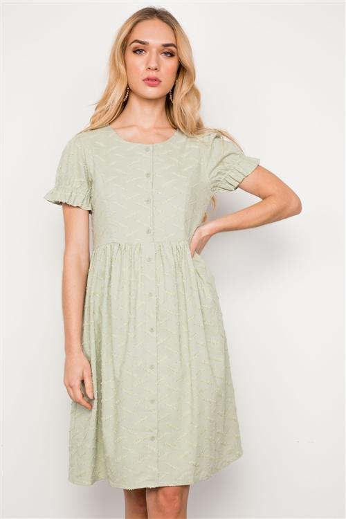 Montana Dress in Sage
