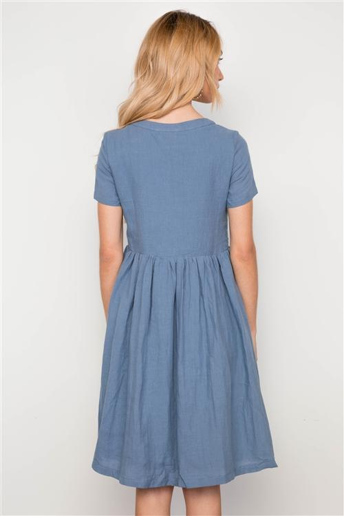 Sea Salt Dress in Blue