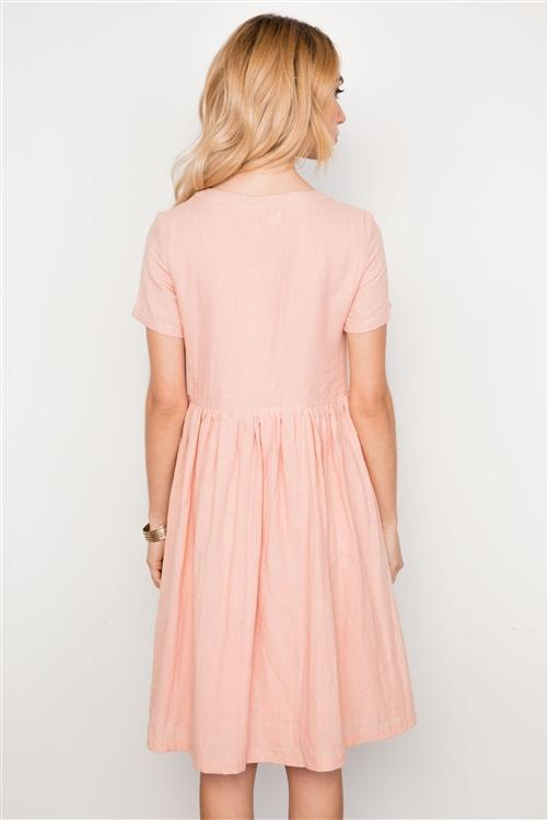 Sea Salt Dress in Mauve