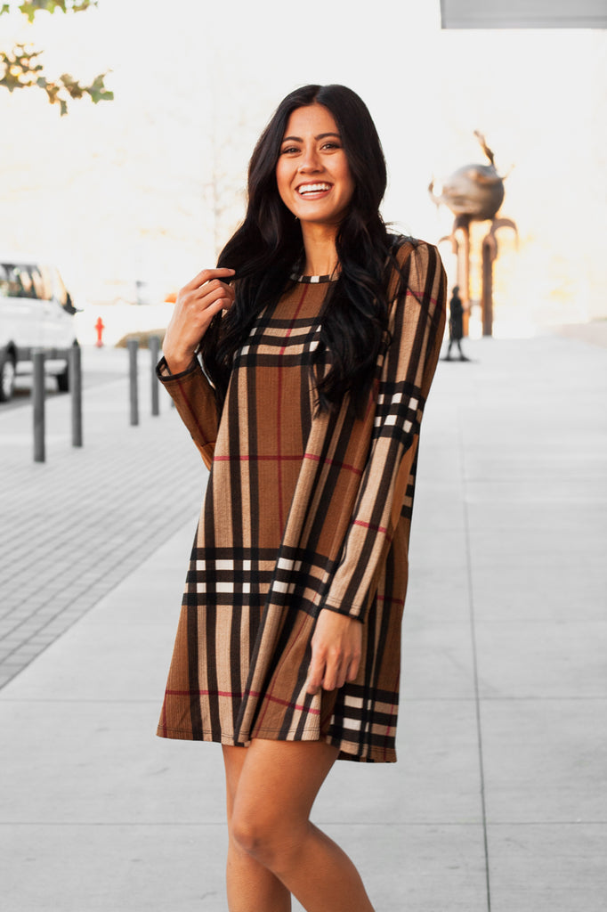 Not Your Mom's Plaid Dress