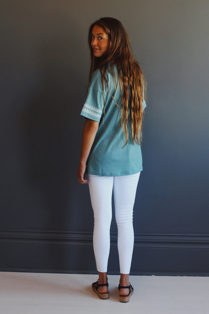 Willow Top in Turquoise