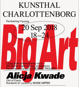 Group show at Charlottenborg Kunsthal in Copenhagen. BIG-Bjarke Ingels Group and it's artist collaborations. I have got a project in the show. Sep 21st - Jan 13th.