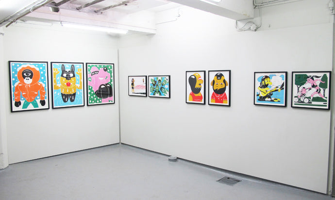 Print show in the V1 Gallery basement space (solo)