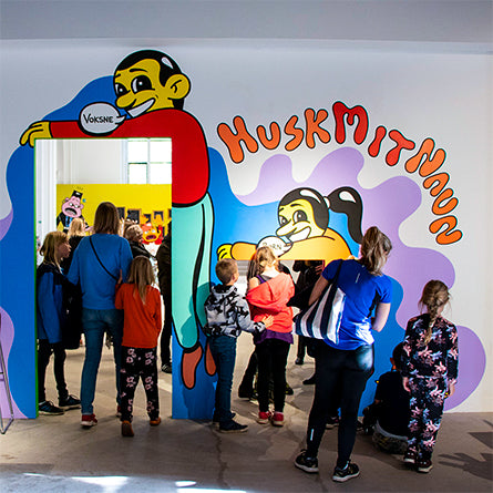 'Tegn' (draw) A solo show at Nikolaj Kunsthal in Copenhagn. For people of all ages.