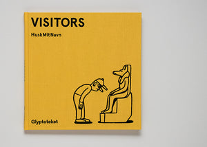 Visitors. A book and show at Glyptoteket portraying the guests at the museum in Copenhagen