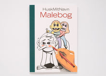 HuskMitNavn Malebog (Colouring book)