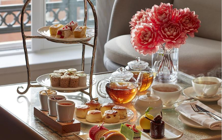 Afternoon tea at The Rosebery