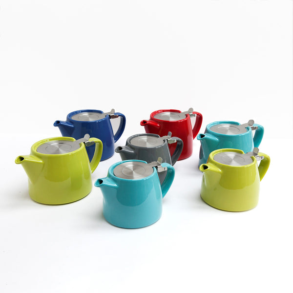 Small Stump Teapot 410ml - Turquoise