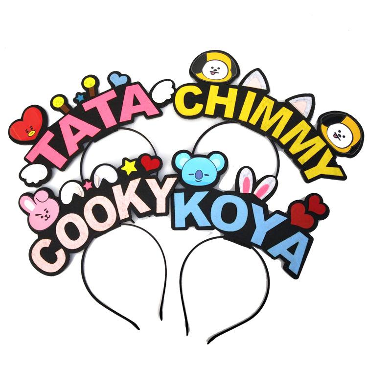 BT21 Character Name Headband Hair Lunar Noona