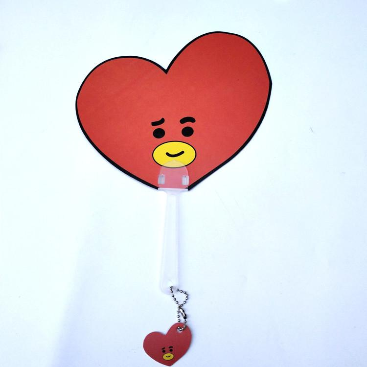 BT21 Character Hand Held Fan Beauty Lunar Noona TATA