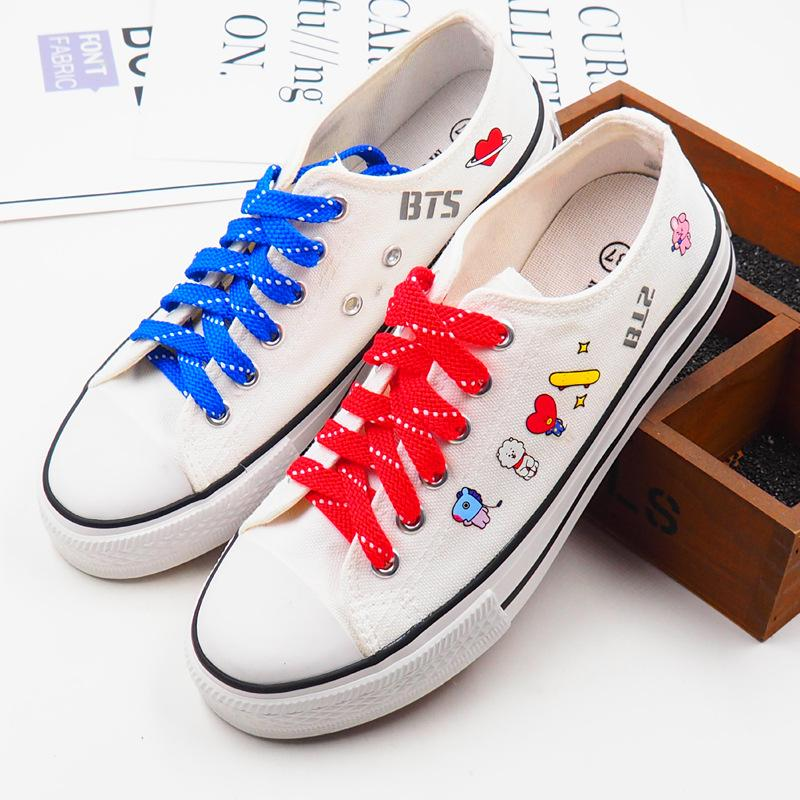 BT21 Canvas Sneaker Shoes Lunar Noona 36