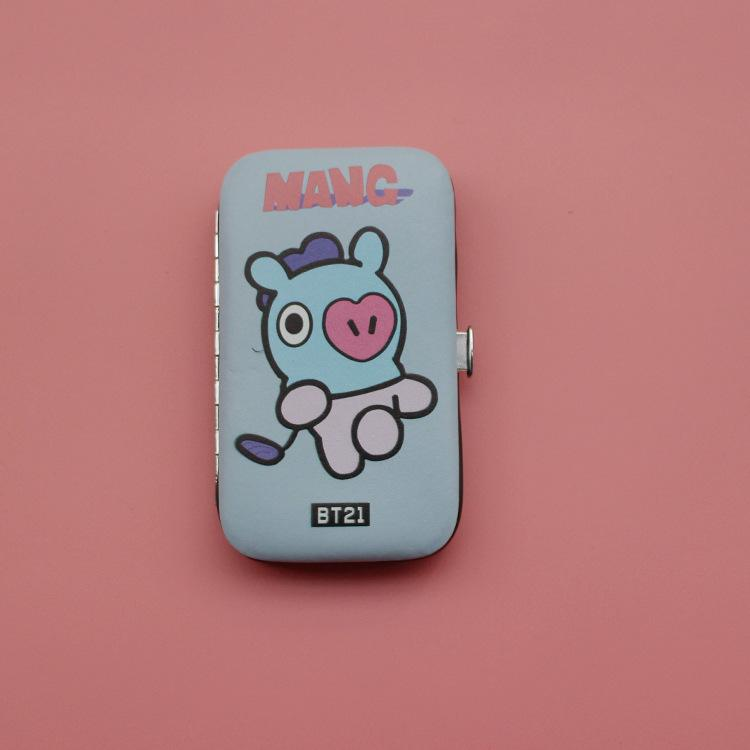 BT21 Nail Clipper Grooming Set- MANG Beauty Lunar Noona