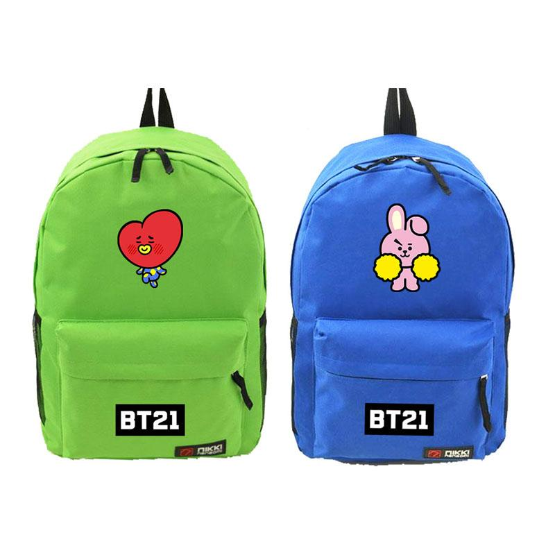 BT21 Logo Character Backpack Backpack Lunar Noona