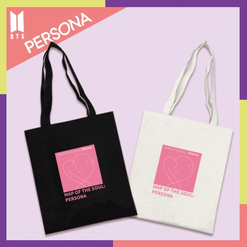 BTS Map Of The Soul: Persona Album Logo Tote Bag Backpack Lunar Noona