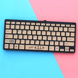 BT21 Keyboard- SHOOKY