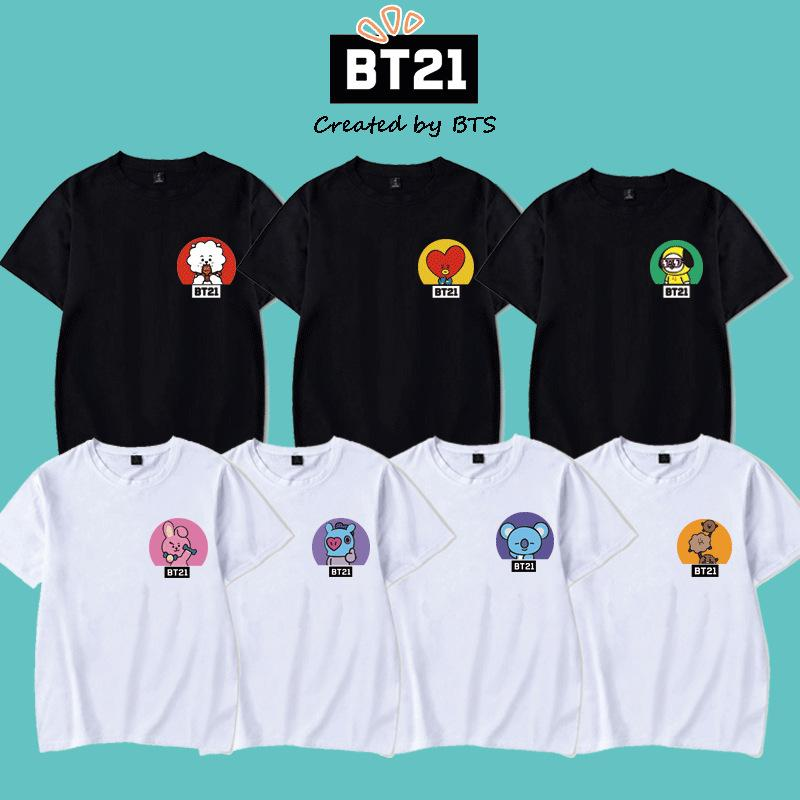 BT21 Circle Friends T-Shirt Short Lunar Noona