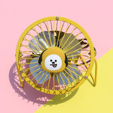 BT21 USB Mini Metal Fan- CHIMMY