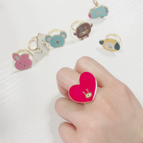 BT21 Character Ring