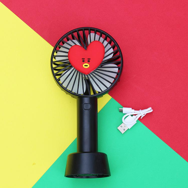 BT21 Rechargeable Portable Fan- TATA Electronics Lunar Noona