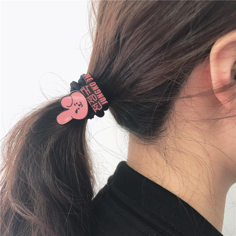 BT21 Character Hairtie Hair Lunar Noona