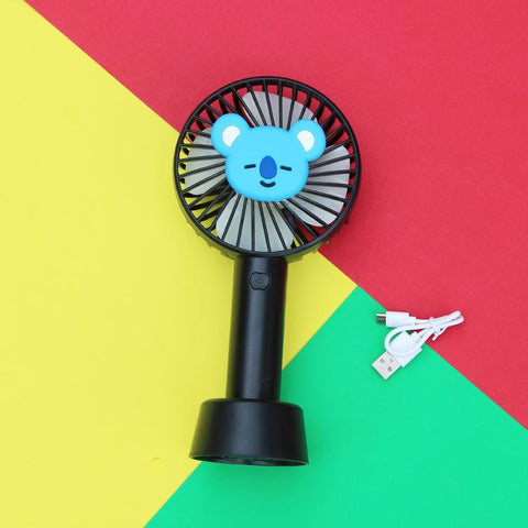 BT21 Rechargeable Portable Fan- KOYA Electronics Lunar Noona