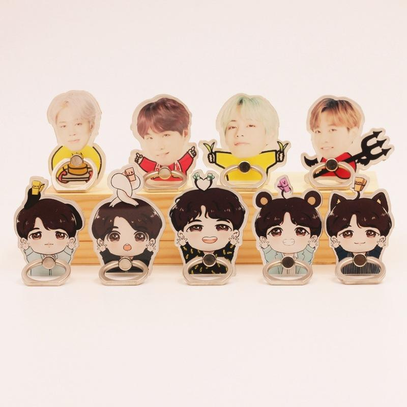 BTS Member Ring Animation Phone Holder Phone Accessories Lunar Noona