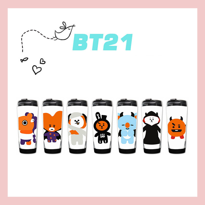 BT21 Halloween Character Tumblr Water Bottle