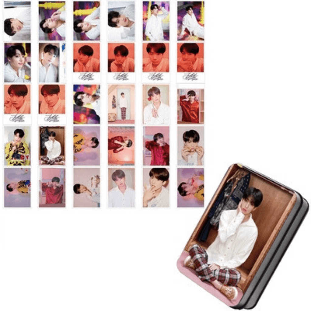 "BTS Map Of The Soul: Persona ""Photoshoot"" Member 30 PC Photocards- JUNGKOOK Photocard Lunar Noona"