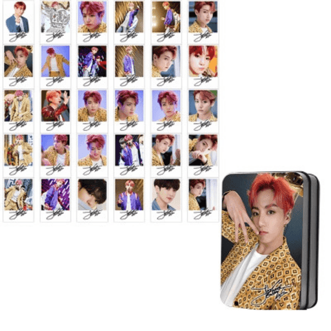 "BTS Love Yourself: Answer ""Idol Photoshoot"" Member 30 PC Signed Photocards- JUNGKOOK Photocard Lunar Noona"