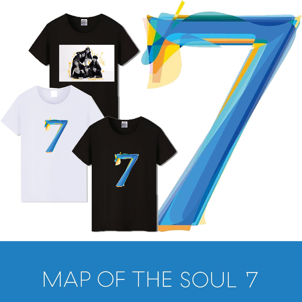 BTS Map Of The Soul: 7 Assorted Variety T-Shirt
