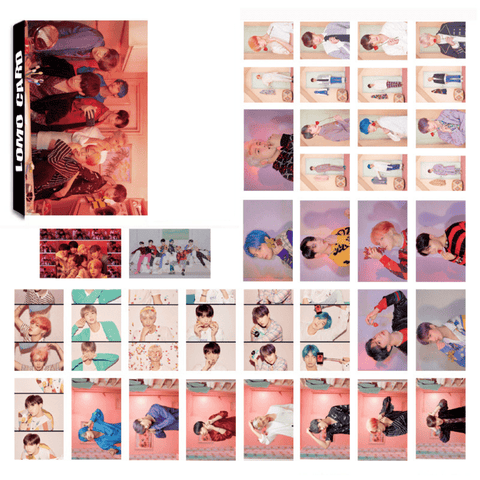 "BTS Map Of The Soul: Persona ""Concept Photos"" All Member 30 PC LOMO Photocards"