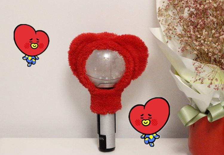 BT21 Army Bomb Cover- TATA Lightstick Lunar Noona