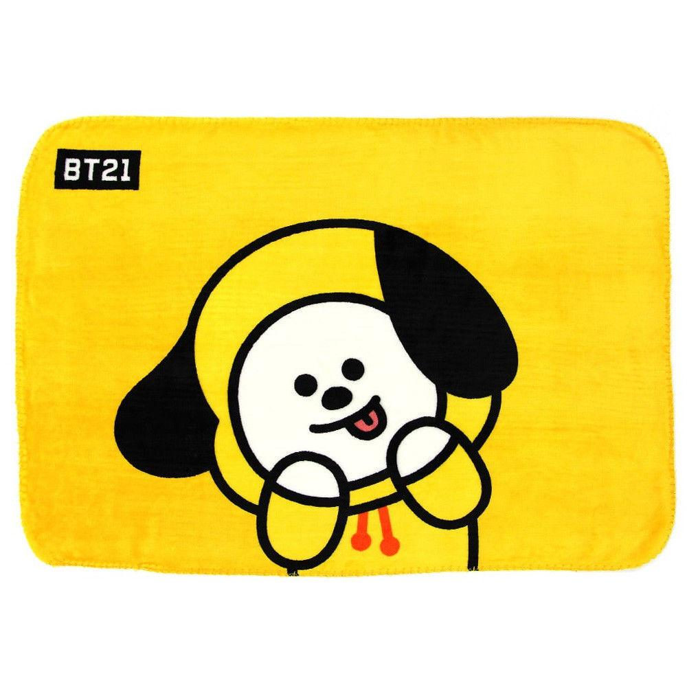 BT21 Thick Flannel Blanket- CHIMMY Sleep Lunar Noona