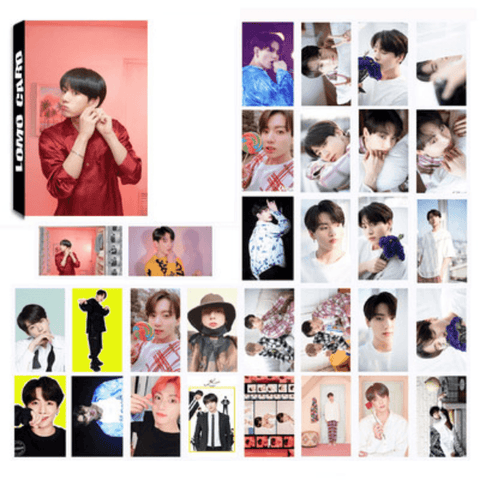"BTS Map Of The Soul: Persona ""Concept Photos"" Member 30 PC LOMO Photocards- JUNGKOOK Photocard Lunar Noona"