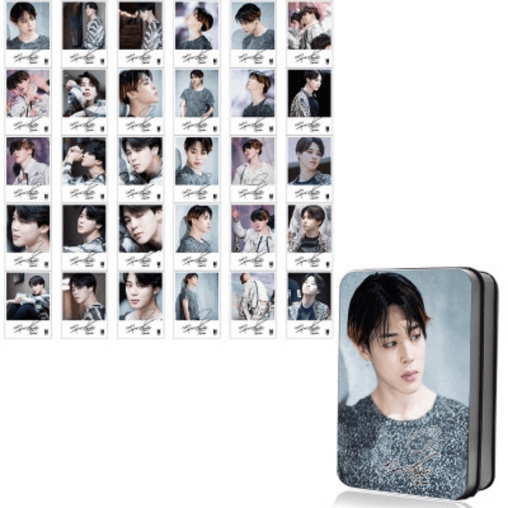"BTS Love Yourself: Tear ""Fake Love Photoshoot"" Member 30 PC Signed Photocards- JIMIN Photocard Lunar Noona"