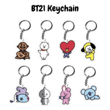 BT21 Character Keychain