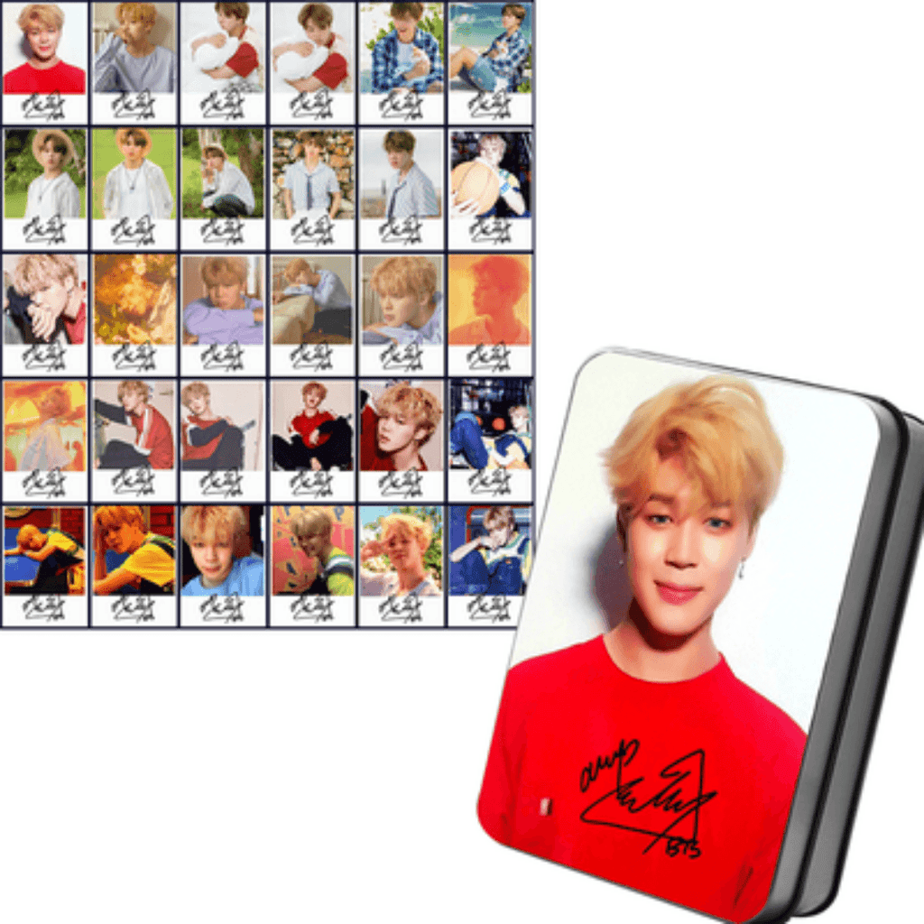 "BTS Love Yourself: Her ""Concept Photos"" Member 30 PC Signed Photocards- JIMIN Photocard Lunar Noona"