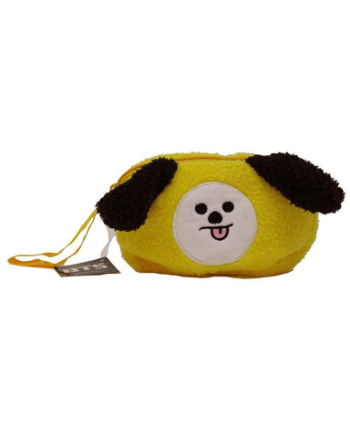 BT21 Plush Pencil Case- CHIMMY School Lunar Noona