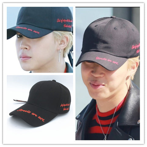 BTS Canvas Hat- JIMIN