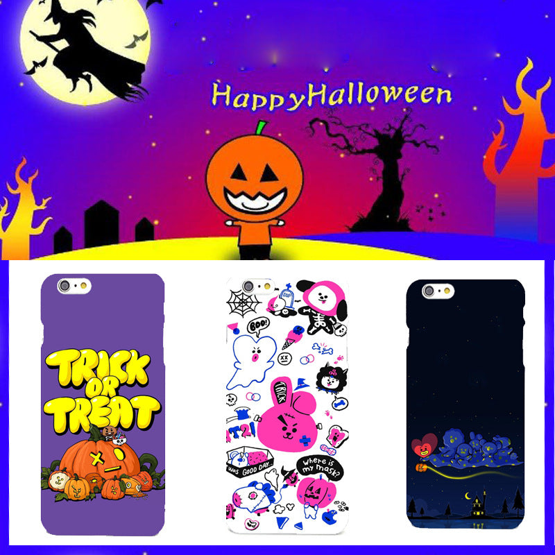 BT21 Halloween All Character Phone Case