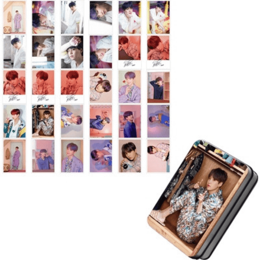 "BTS Map Of The Soul: Persona ""Photoshoot"" Member 30 PC Photocards- SUGA Photocard Lunar Noona"