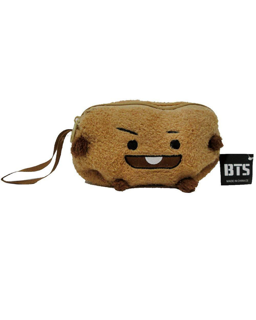 BT21 Plush Pencil Case- SHOOKY School Lunar Noona