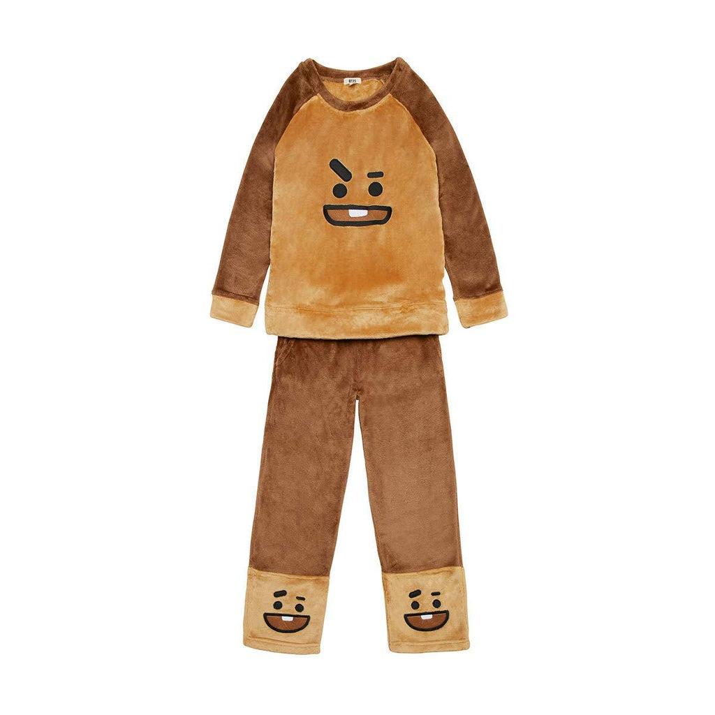 BT21 Fleece Pajama- SHOOKY Pajama Lunar Noona